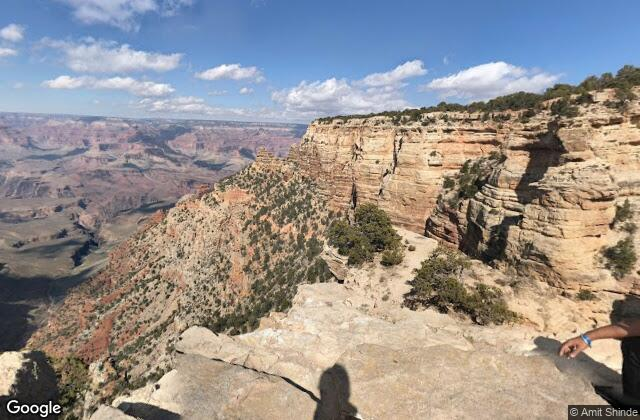 Whipped Cream Pie in the Grand Canyon