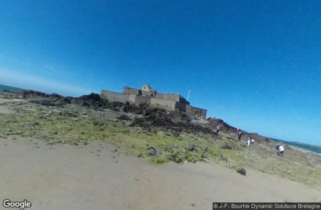 The castle you can walk to at low tide